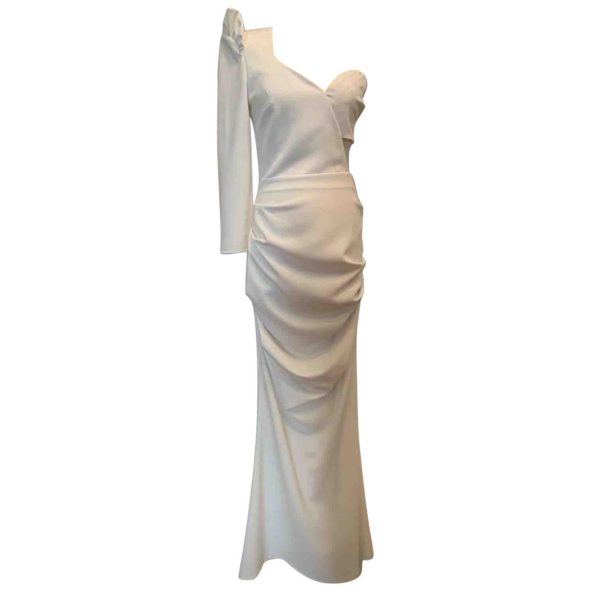 Vestido de Seda Elisabetta Franchi