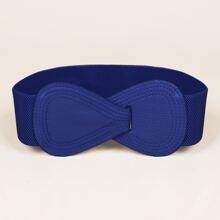 Cinturon elastico con diseño de lazo