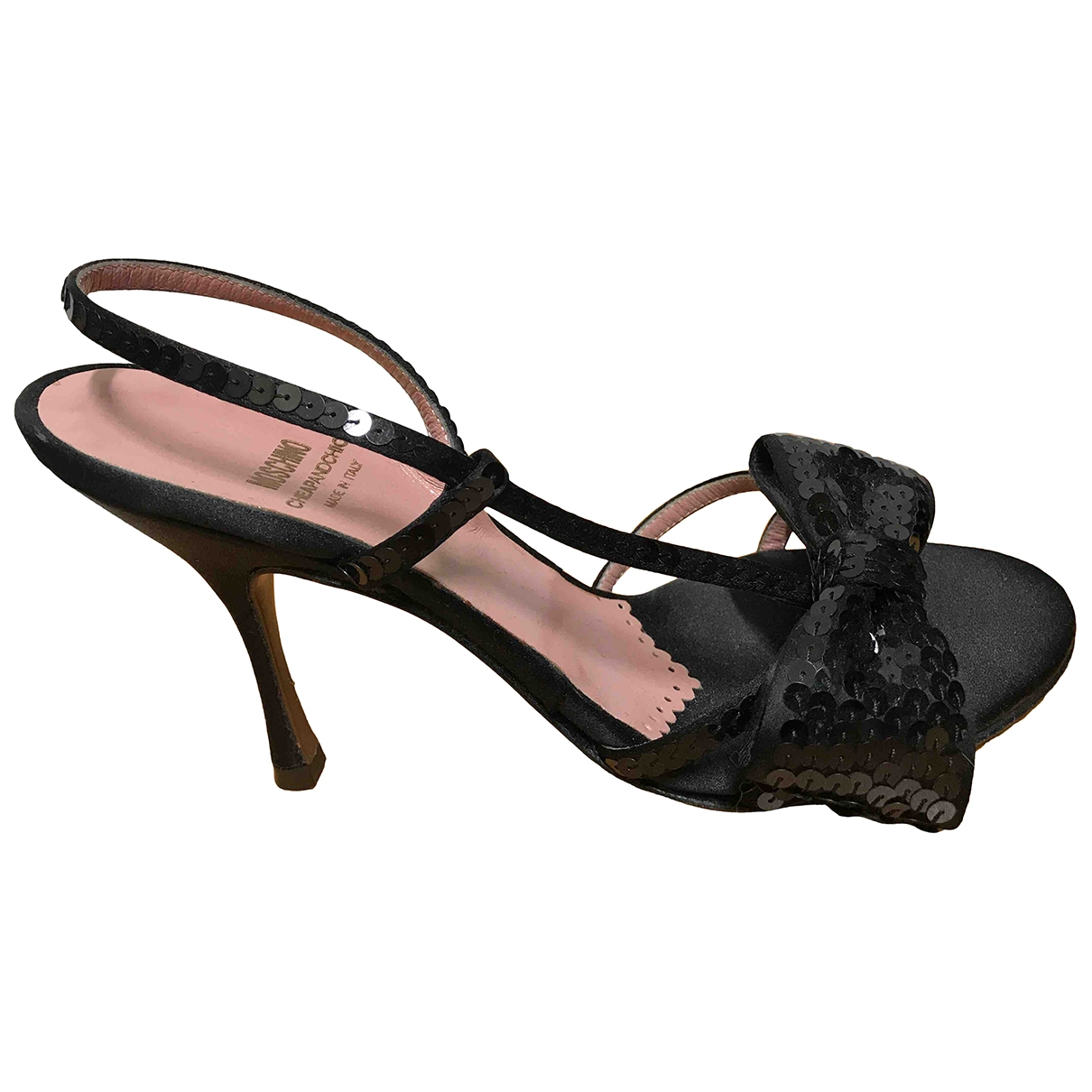 Moschino Cheap And Chic \N Black Cloth Sandals for Women 36 IT
