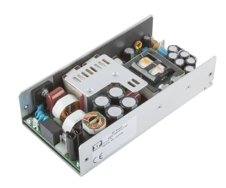 XP Power , 500W AC-DC Converter, 48V dc, U Bracket, Medical Approved