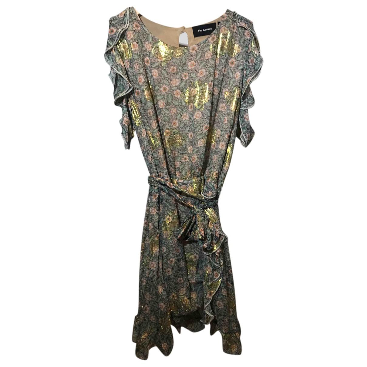 The Kooples N Multicolour Silk dress for Women 3 0-5