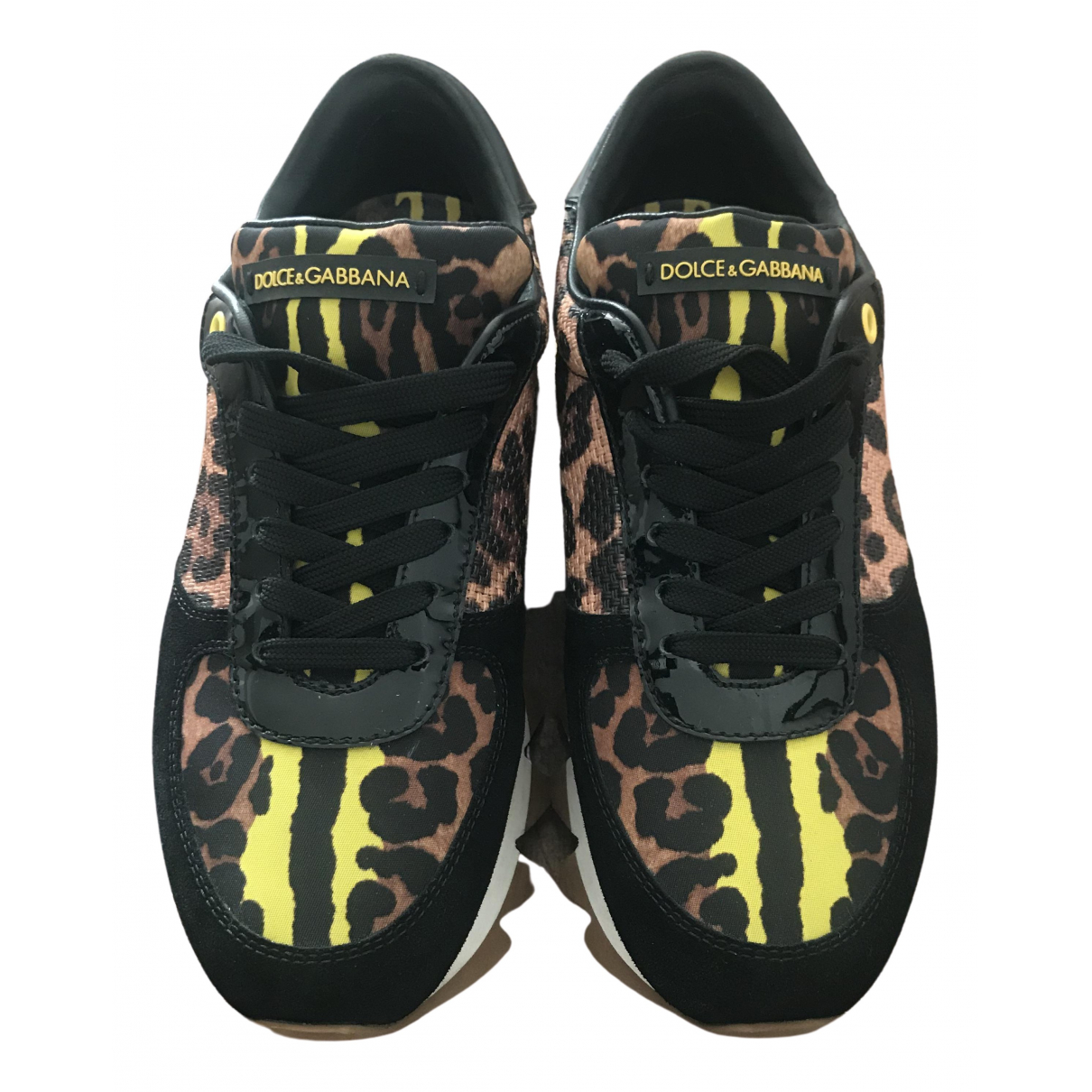 Dolce & Gabbana \N Sneakers in  Bunt Leinen