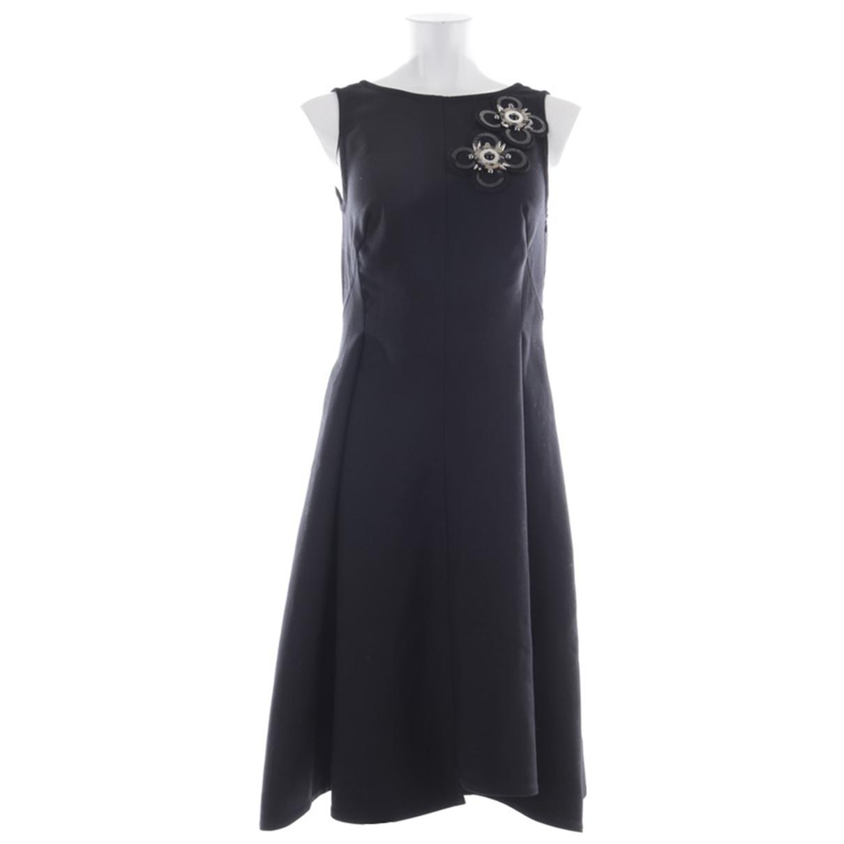 Dorothee Schumacher \N Kleid in  Schwarz Baumwolle