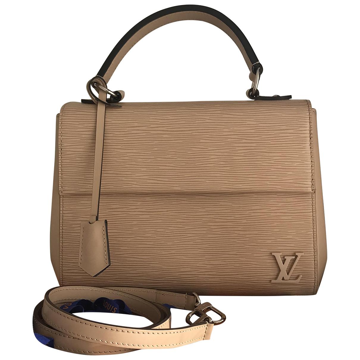Bolso  Cluny de Cuero Louis Vuitton