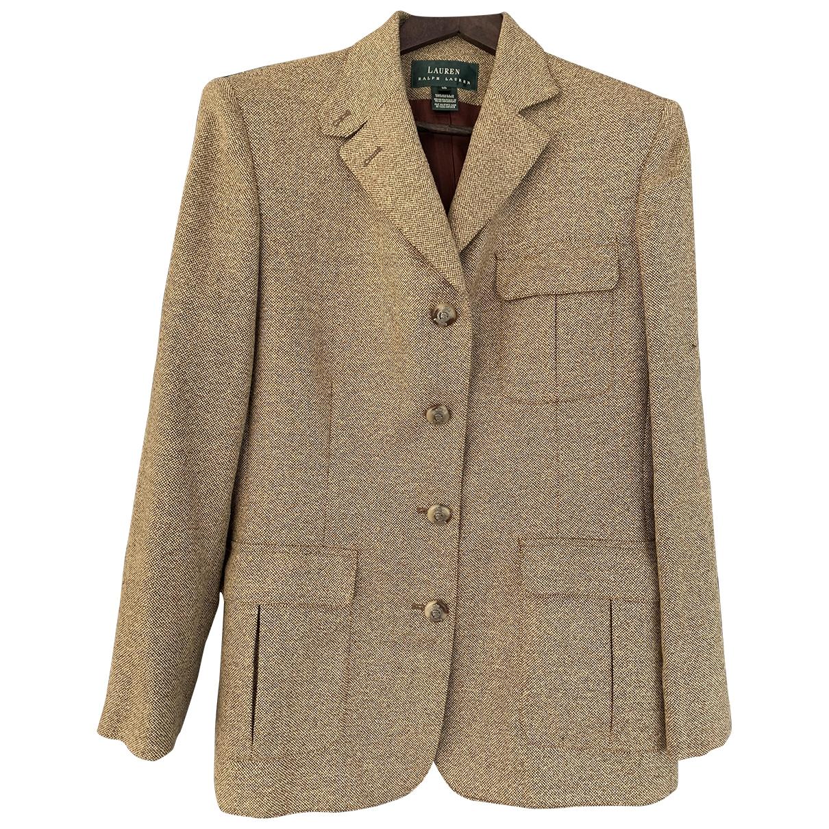 Lauren Ralph Lauren \N Beige Tweed jacket for Women 10 US