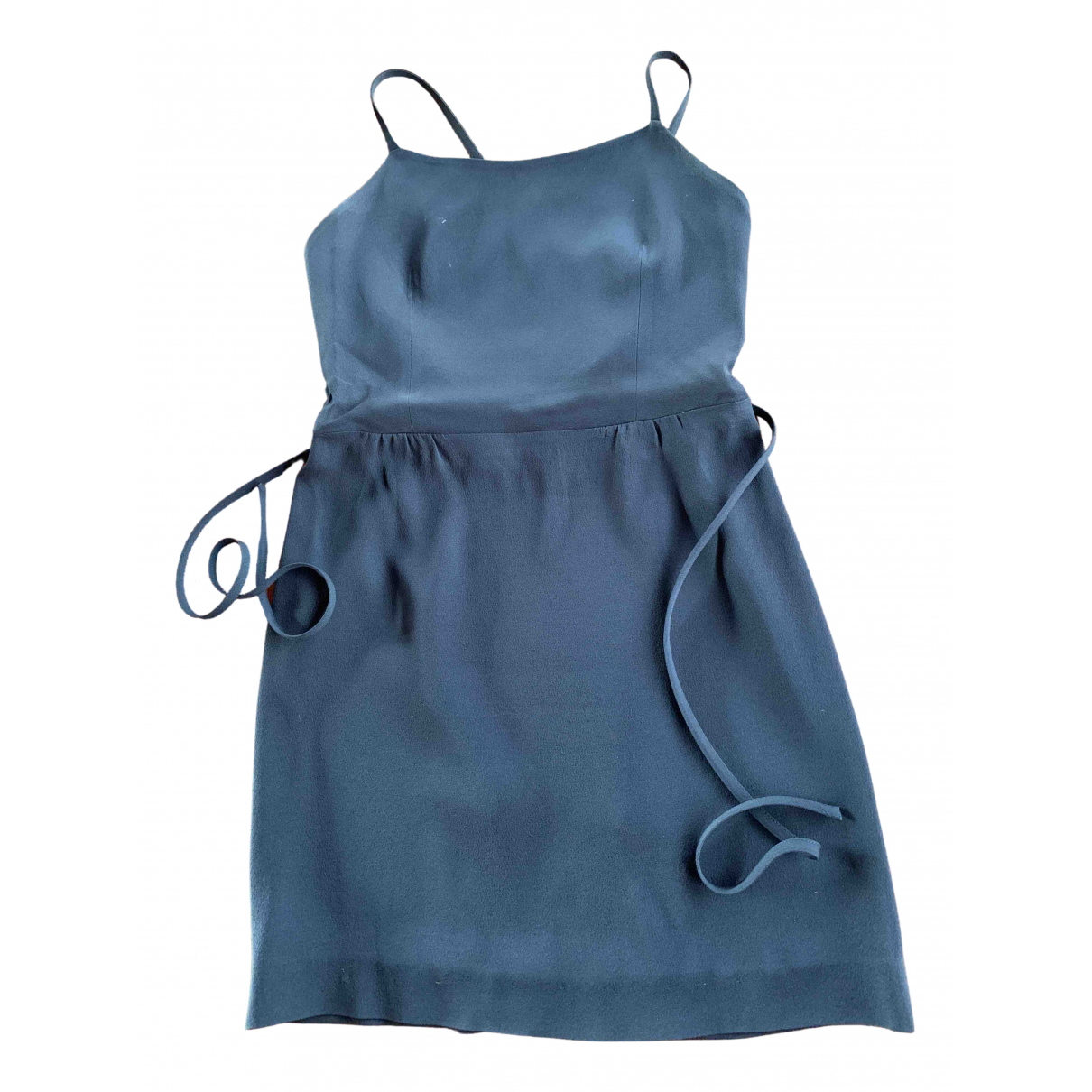 Moschino Cheap And Chic \N Kleid in  Blau Polyester