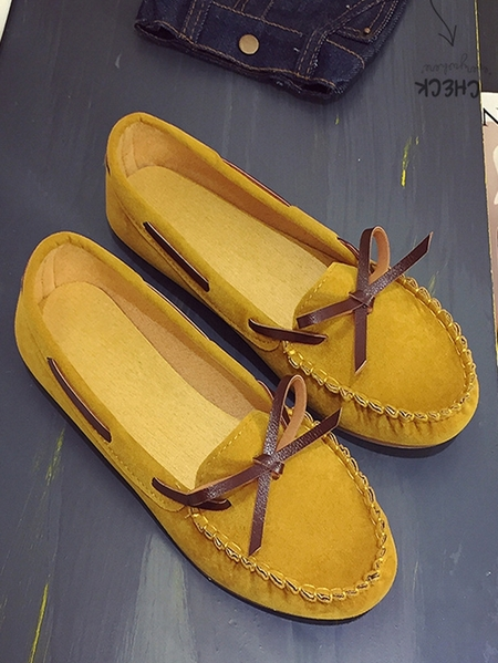 Yoins Casual Loafers Lazy Slip-on