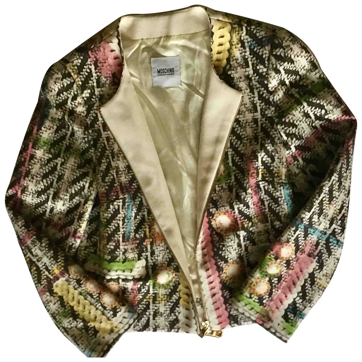 Moschino Cheap And Chic \N Multicolour Wool jacket for Women 8 UK