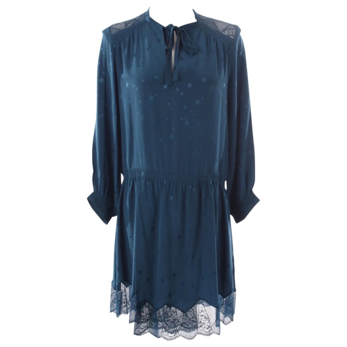 Zadig & Voltaire - Robe   pour femme en soie - violet