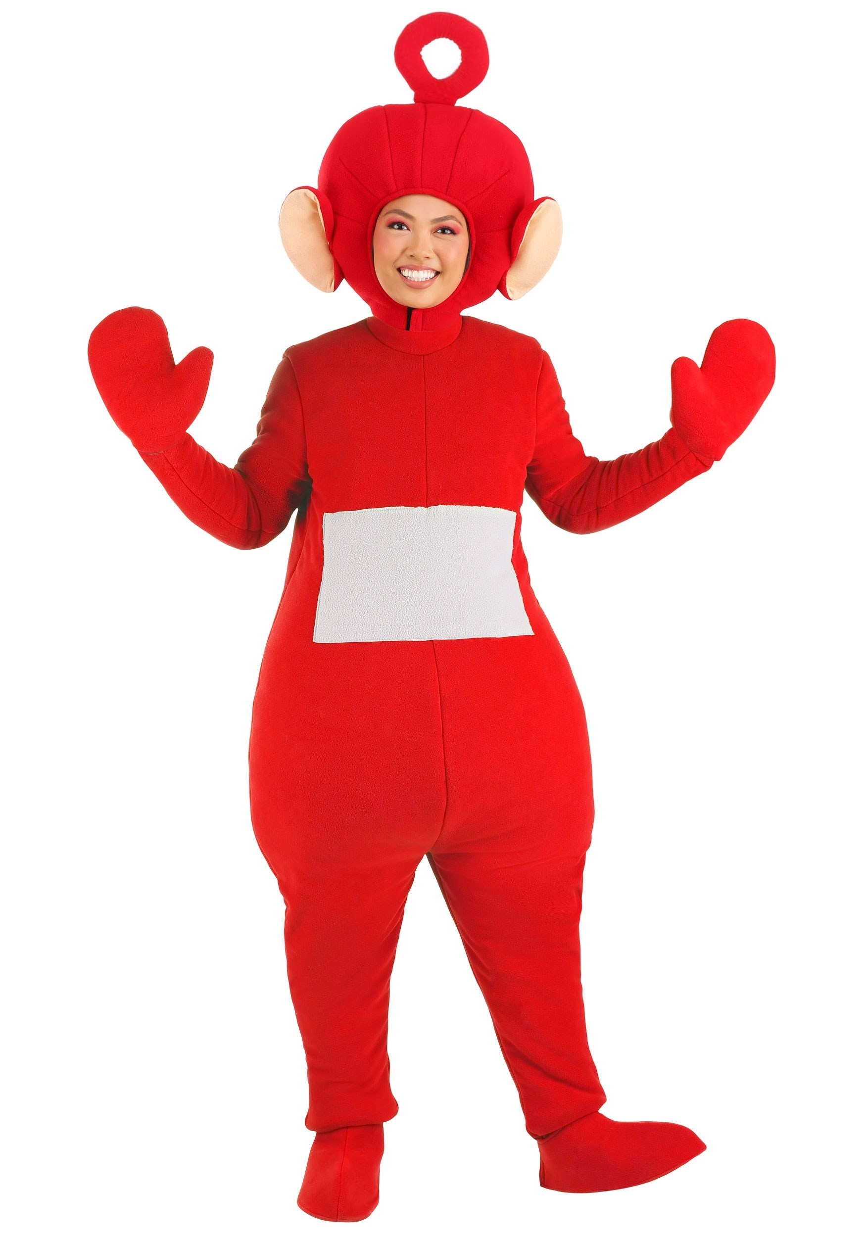 Plus Size Po Teletubbies Costume for Adults