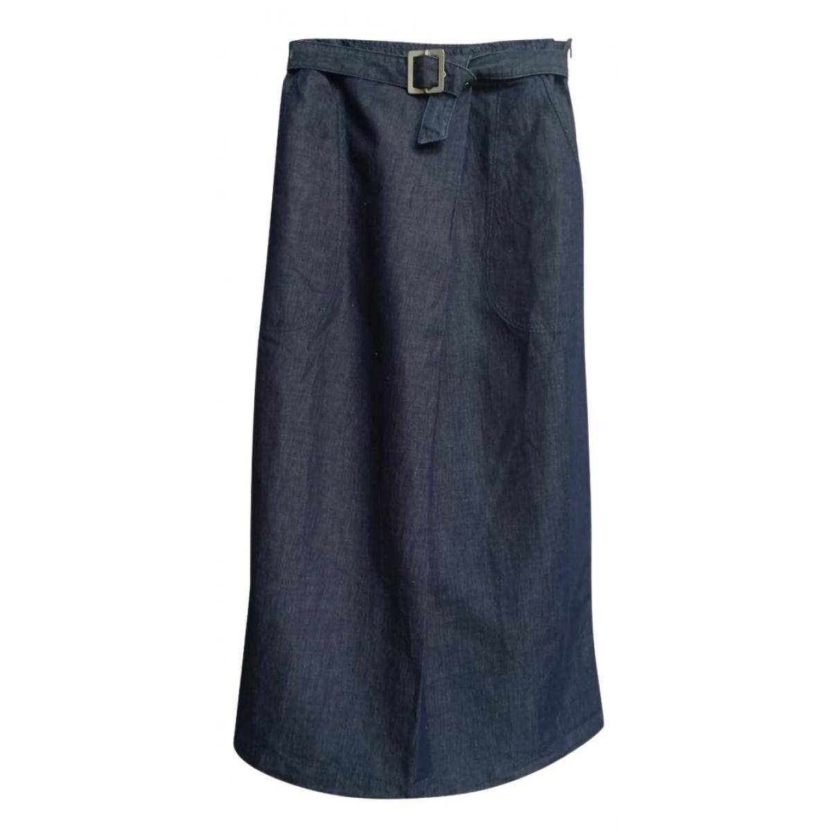 Trussardi Jeans \N Rocke in  Blau Baumwolle