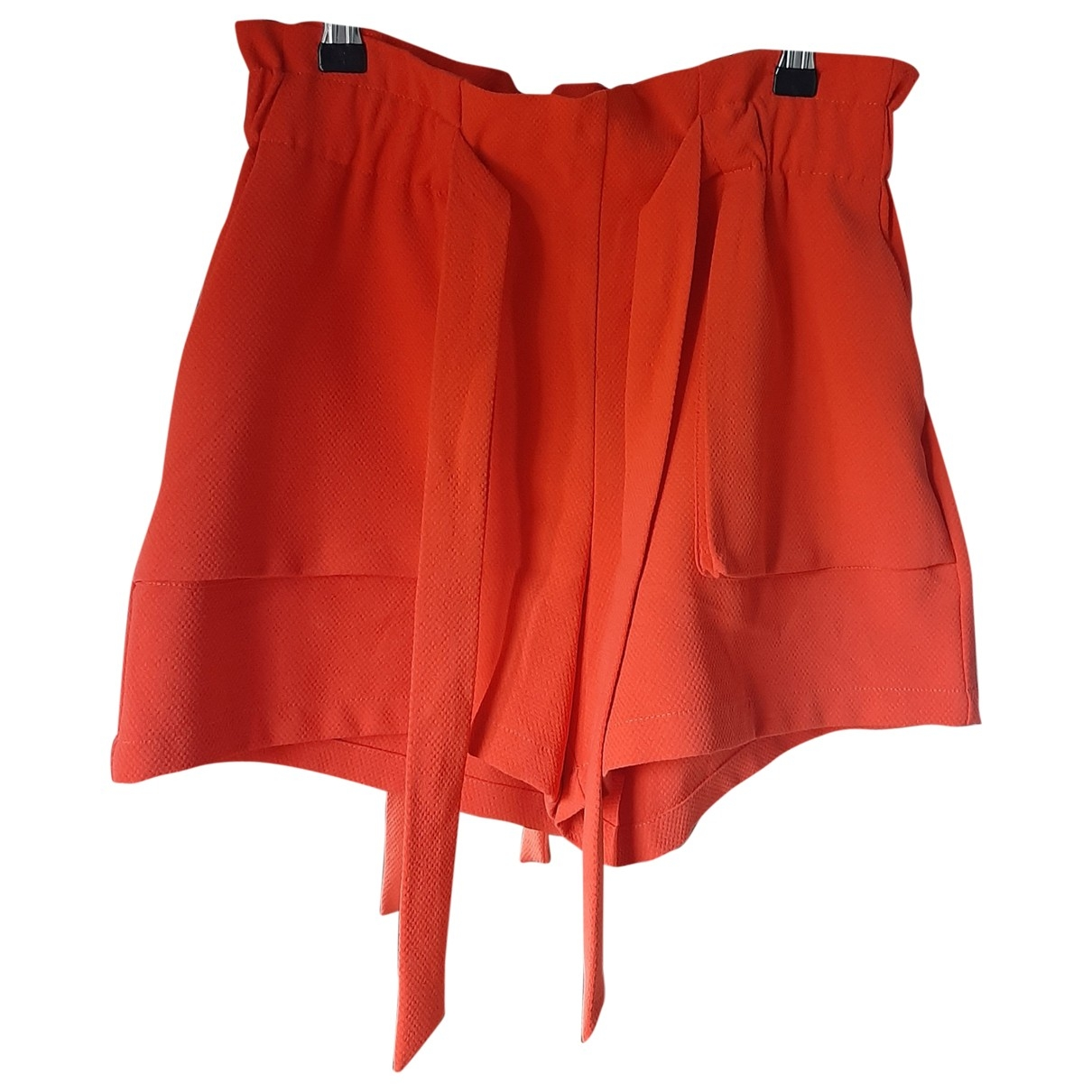 Non Signé / Unsigned \N Orange Shorts for Women XS International