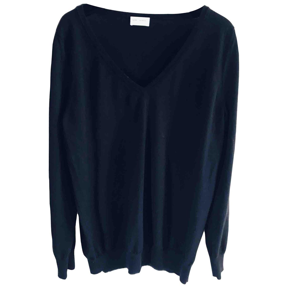 Saint Laurent \N Black Wool Knitwear for Women L International
