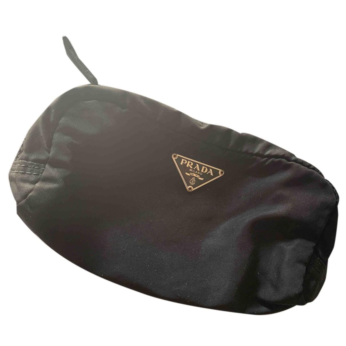 Bolsos clutch Tessuto  en Sintetico Negro Prada