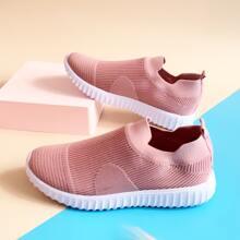 Strick Slip On Sneakers
