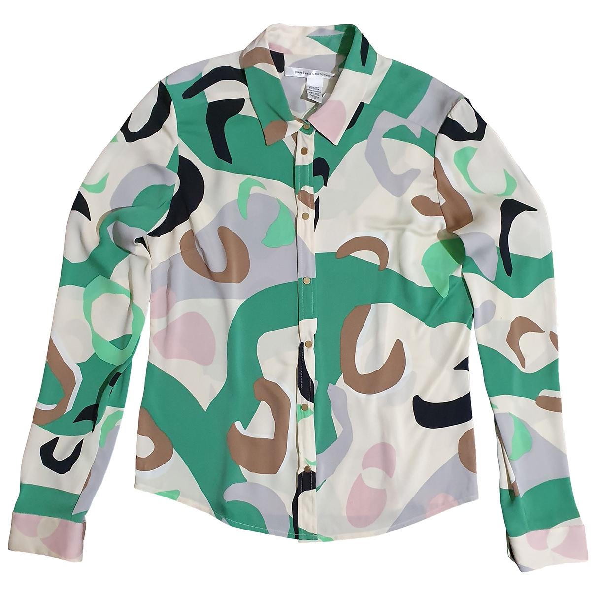 Diane Von Furstenberg \N Multicolour Silk  top for Women 10 US