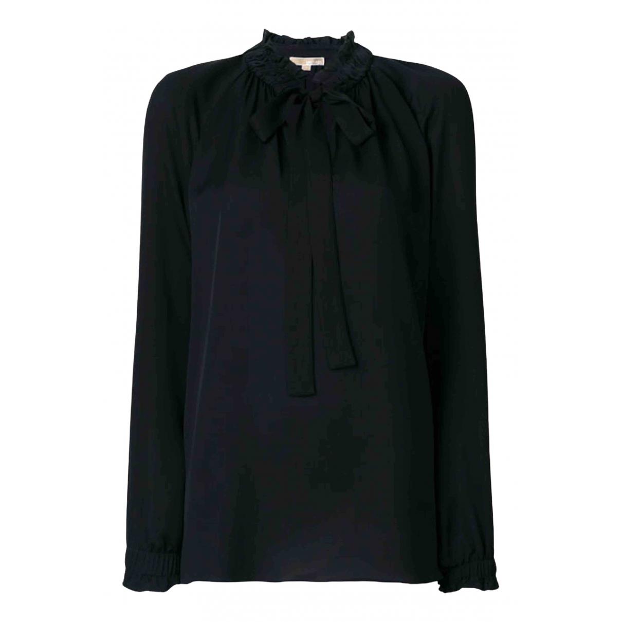 Michael Kors N Black Silk  top for Women M International