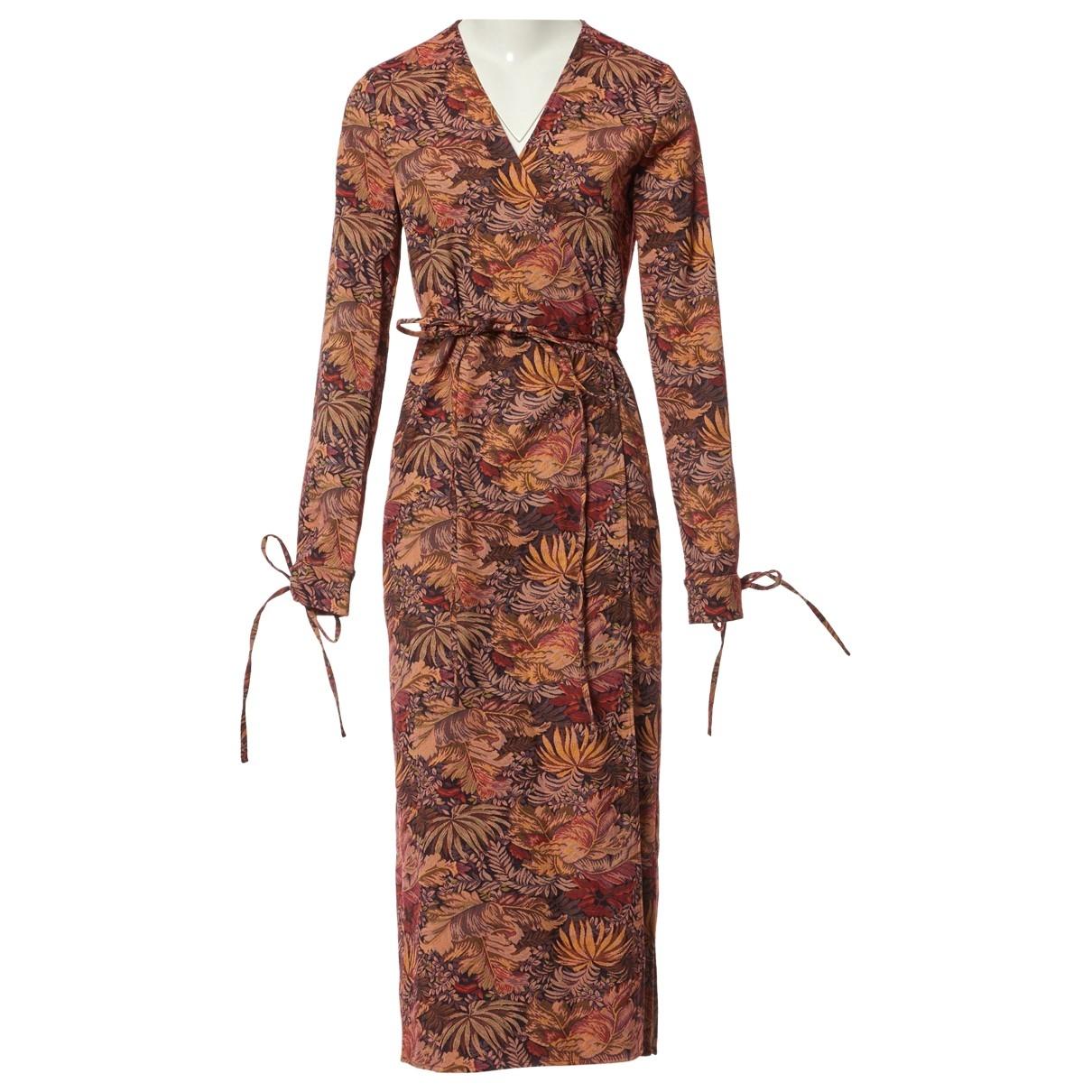 Attico \N Kleid in  Bunt Polyester