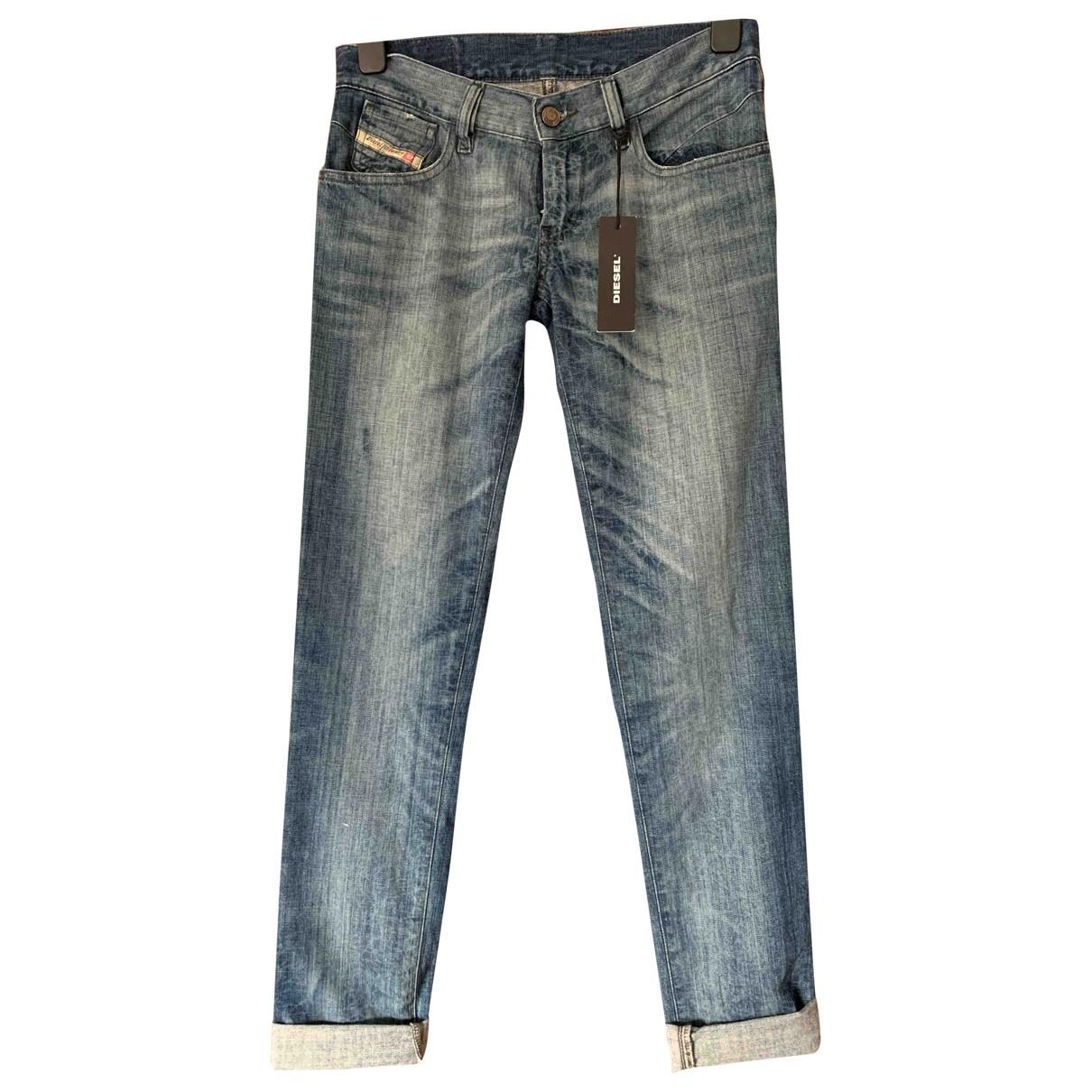Diesel \N Blue Cotton Jeans for Women 27 US