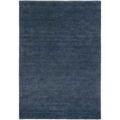 Parma PMA-2300 9' x 12' Rectangle Modern Rug in Navy  Pale