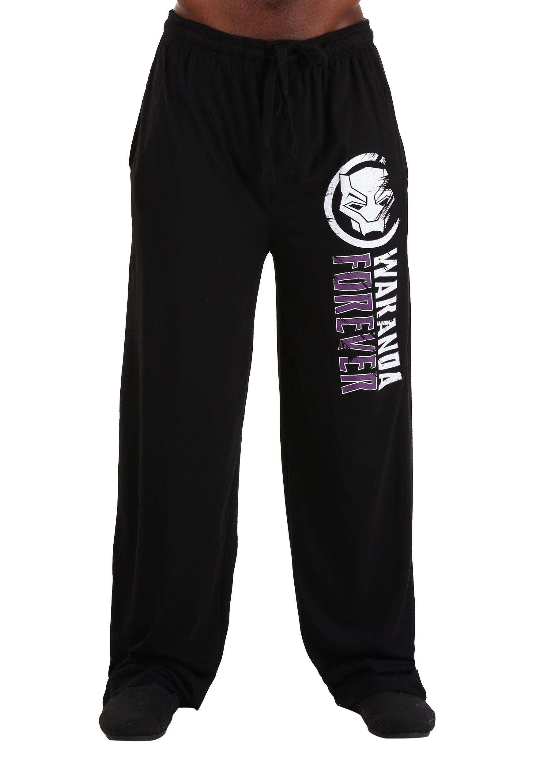 Wakanda Forever Black Panther Sleep/Lounge Pants