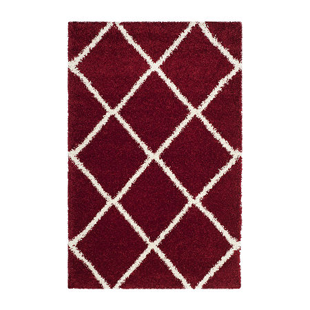 Safavieh Hudson Shag Collection Salome Geometric Area Rug, One Size , Multiple Colors