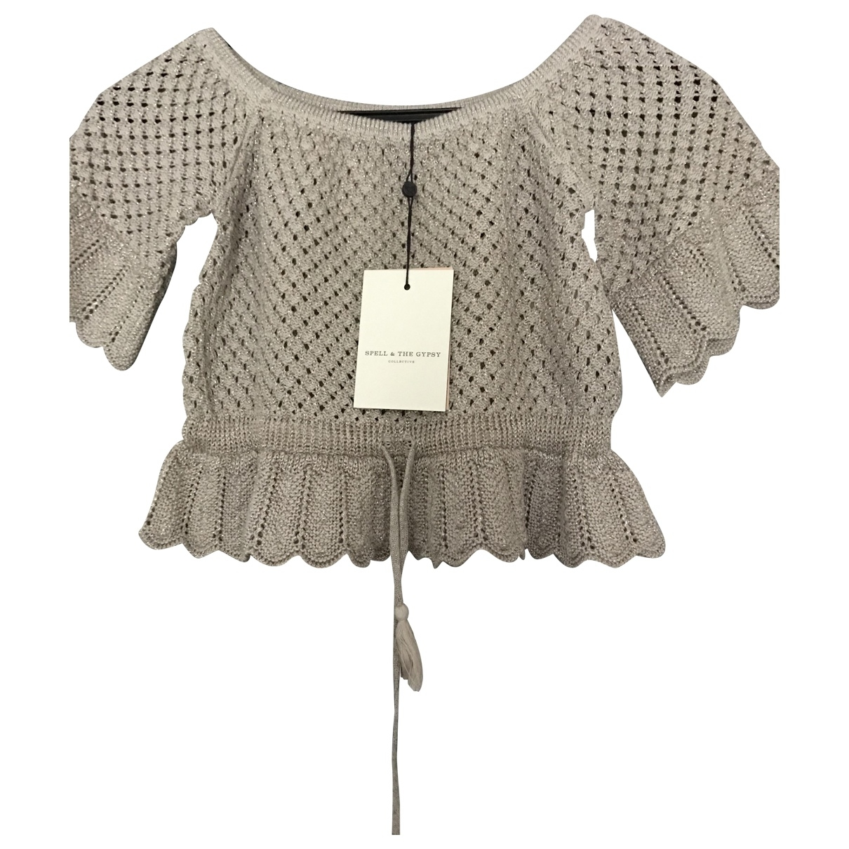 Spell & The Gypsy Collective - Top   pour femme en coton - beige