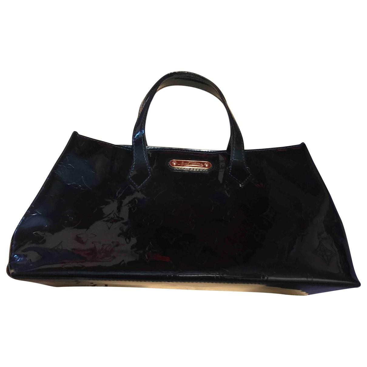 Louis Vuitton \N Green Patent leather handbag for Women \N