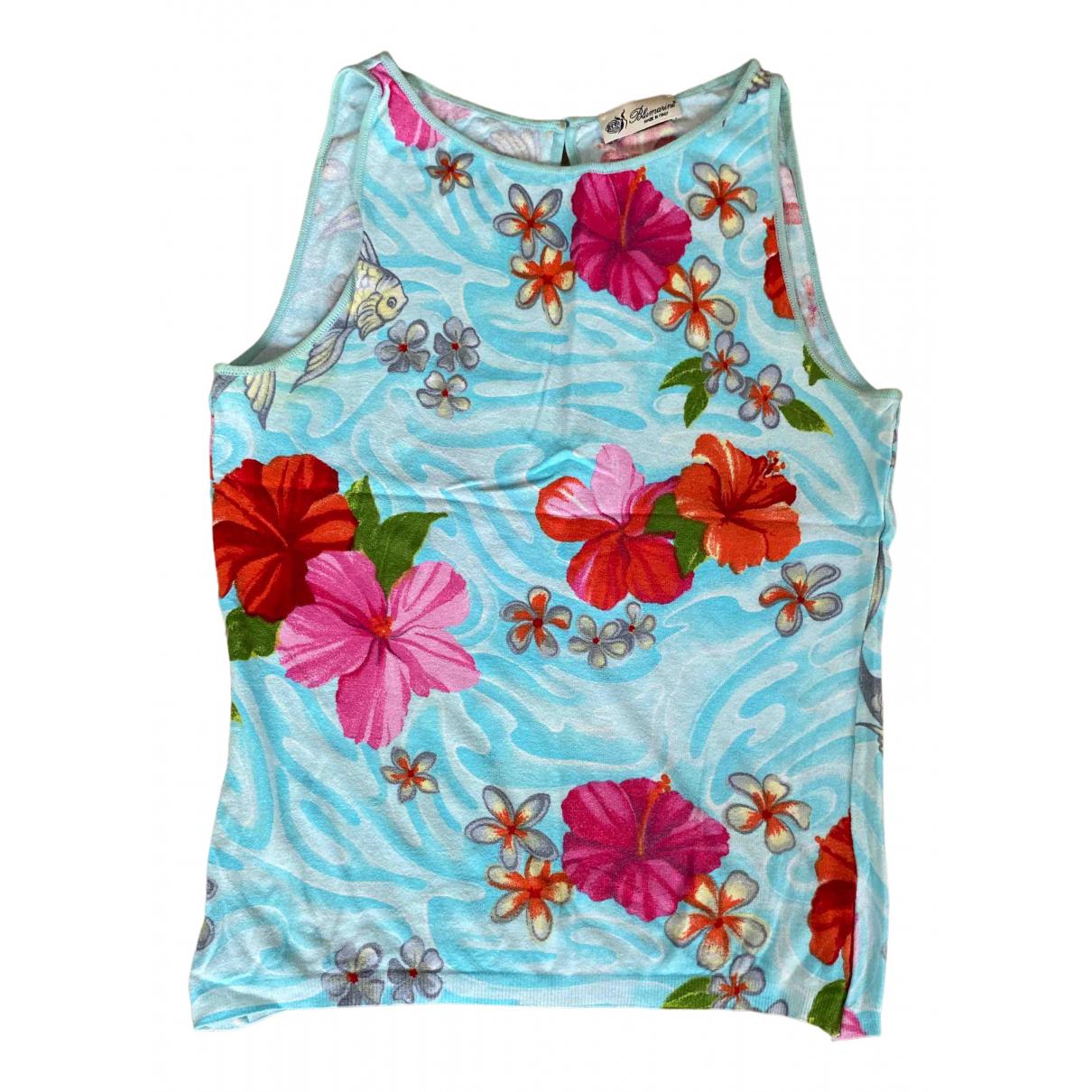 Blumarine \N Turquoise Knitwear for Women 42 IT