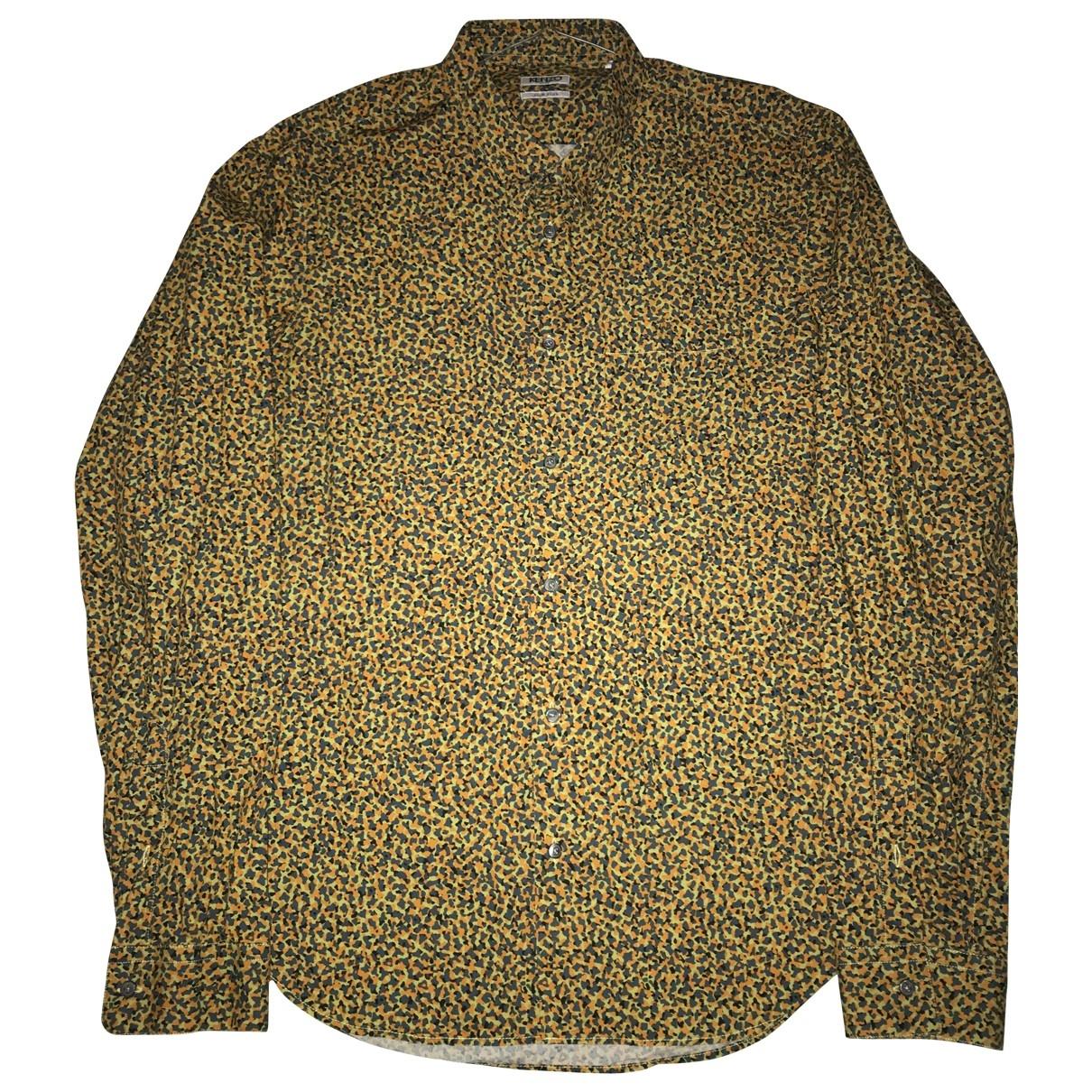 Kenzo \N Hemden in  Gelb Baumwolle