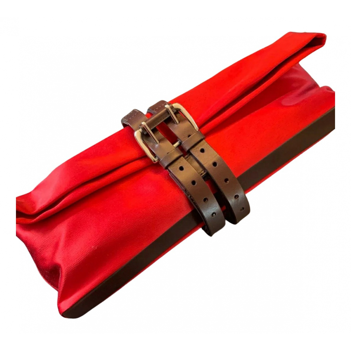 Amanda Wakeley \N Clutch in  Rot Seide