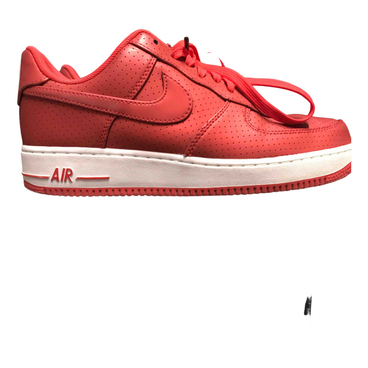 Nike - Baskets Air Force 1 pour homme - rouge