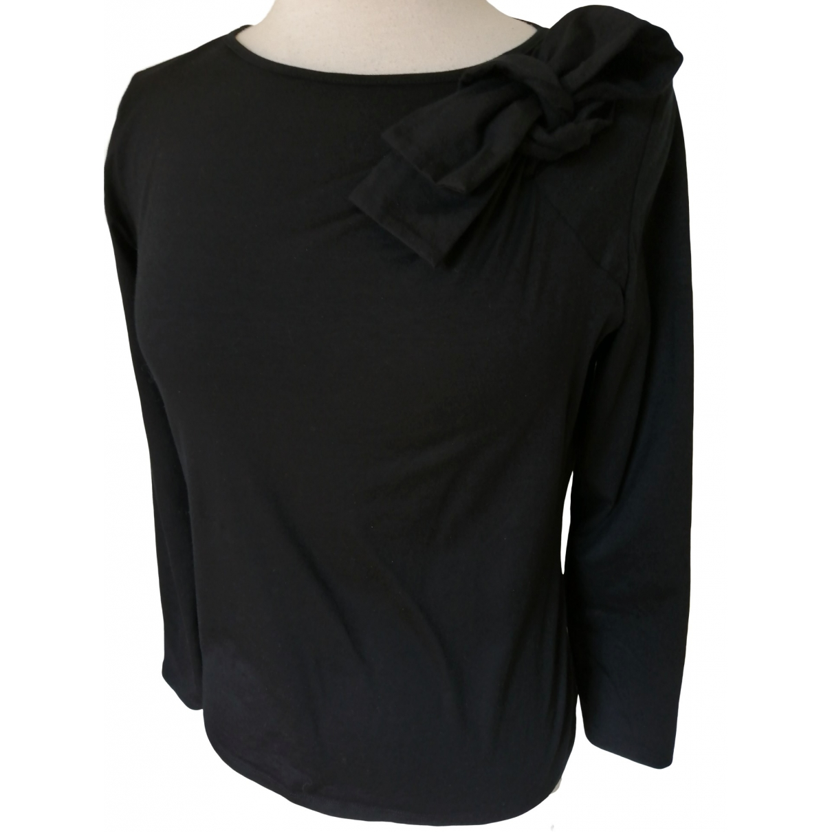 Paule Ka \N Black Cotton  top for Women XL International