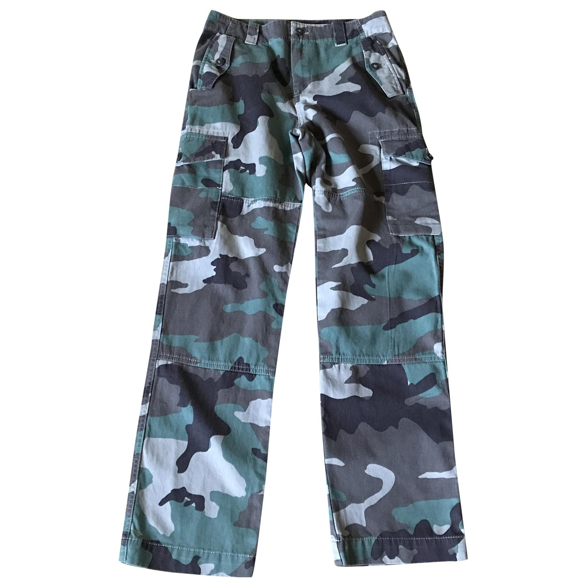 Polo Ralph Lauren \N Green Cotton Trousers for Kids 14 years - S UK