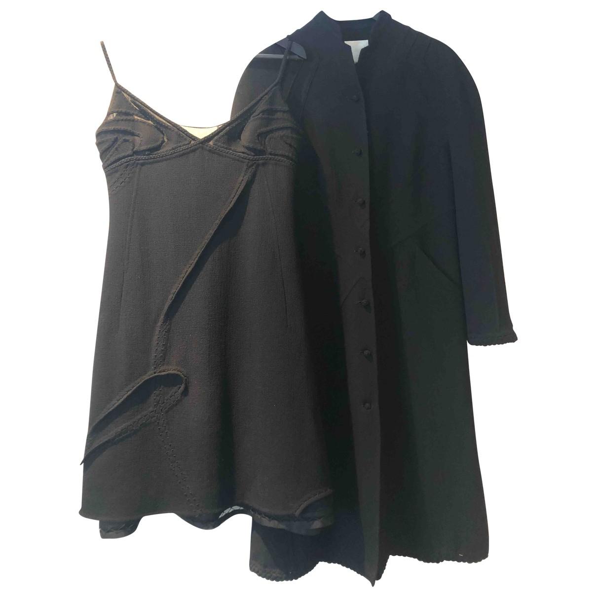 Ralph Rucci \N Black Wool dress for Women 8 US