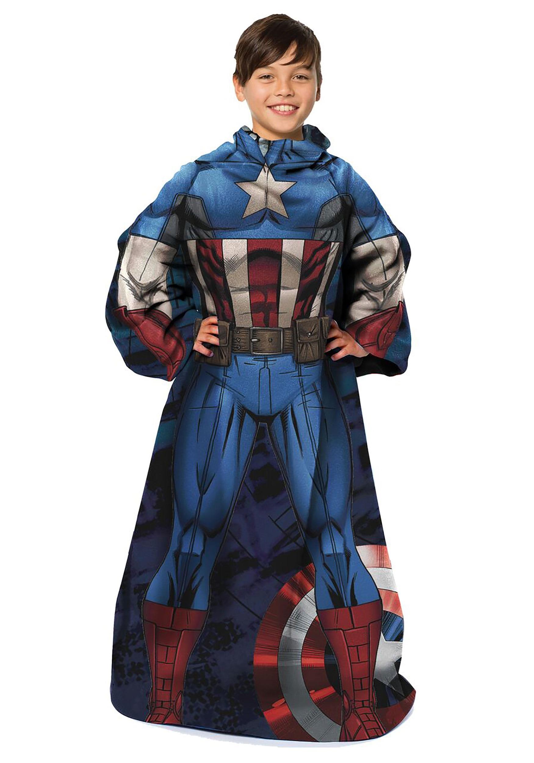 Captain America Comfy Child Throw