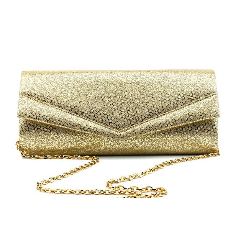 Ericdress Golden Envelope Rectangle Versatile Clutches & Evening Bag