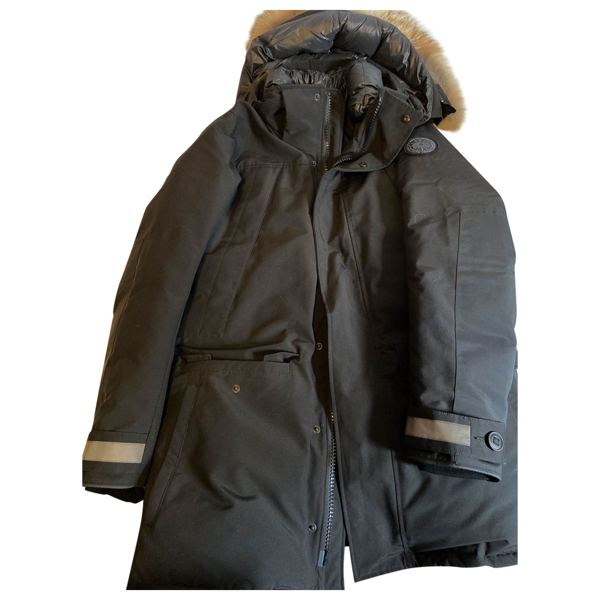 Canada Goose \N Black coat  for Men M International