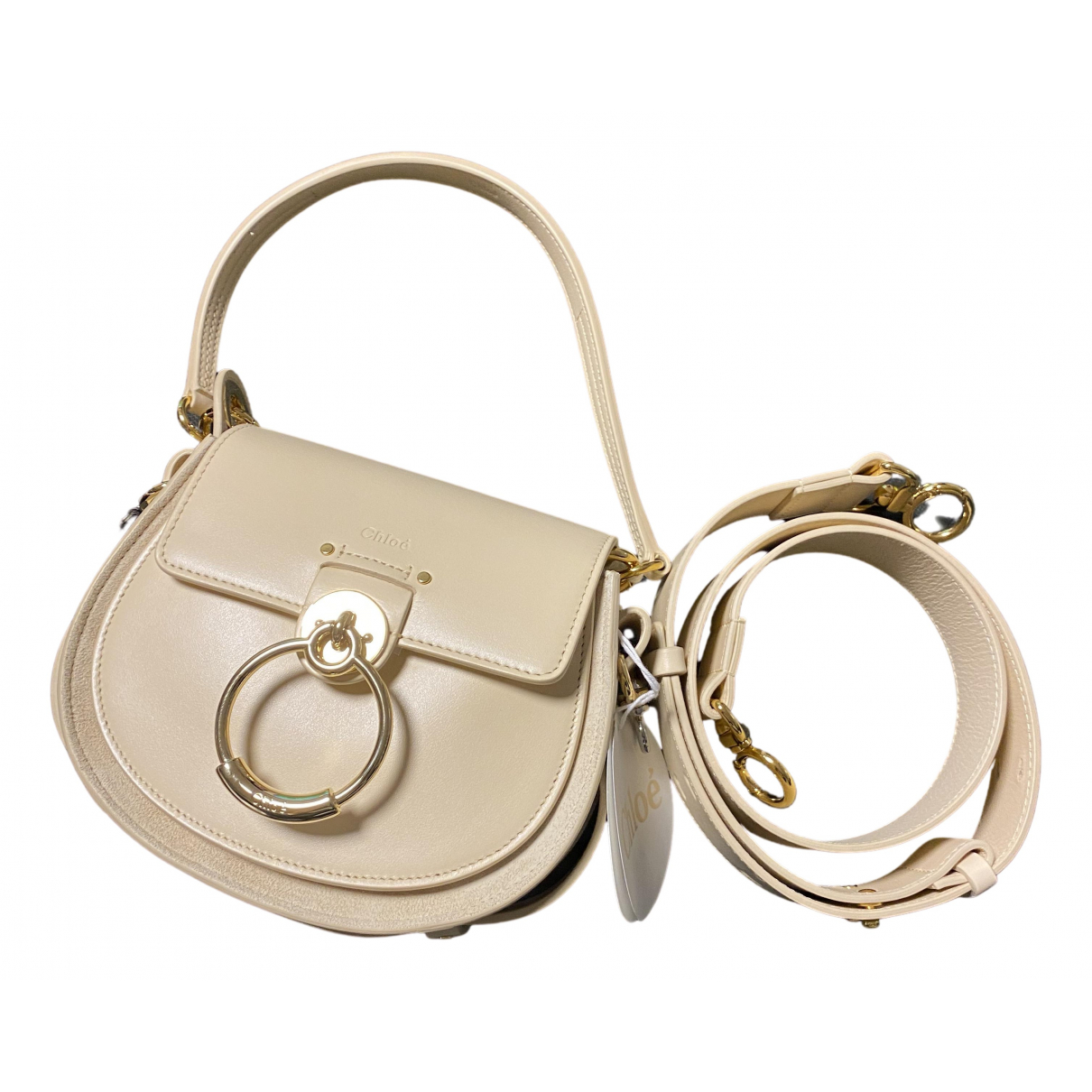 Chloé Tess Beige Leather handbag for Women N