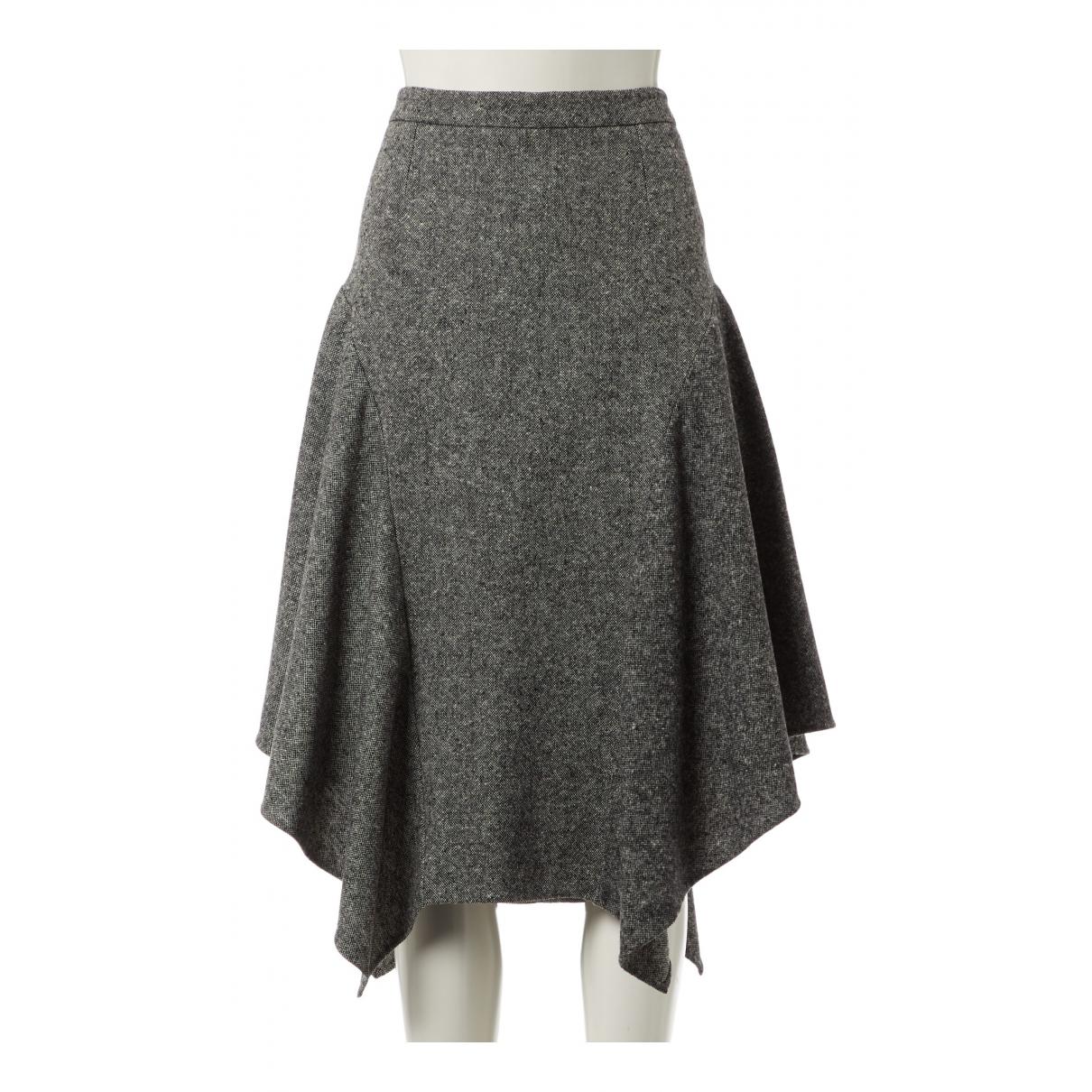 Stella Mccartney N Grey Tweed skirt for Women 40 FR