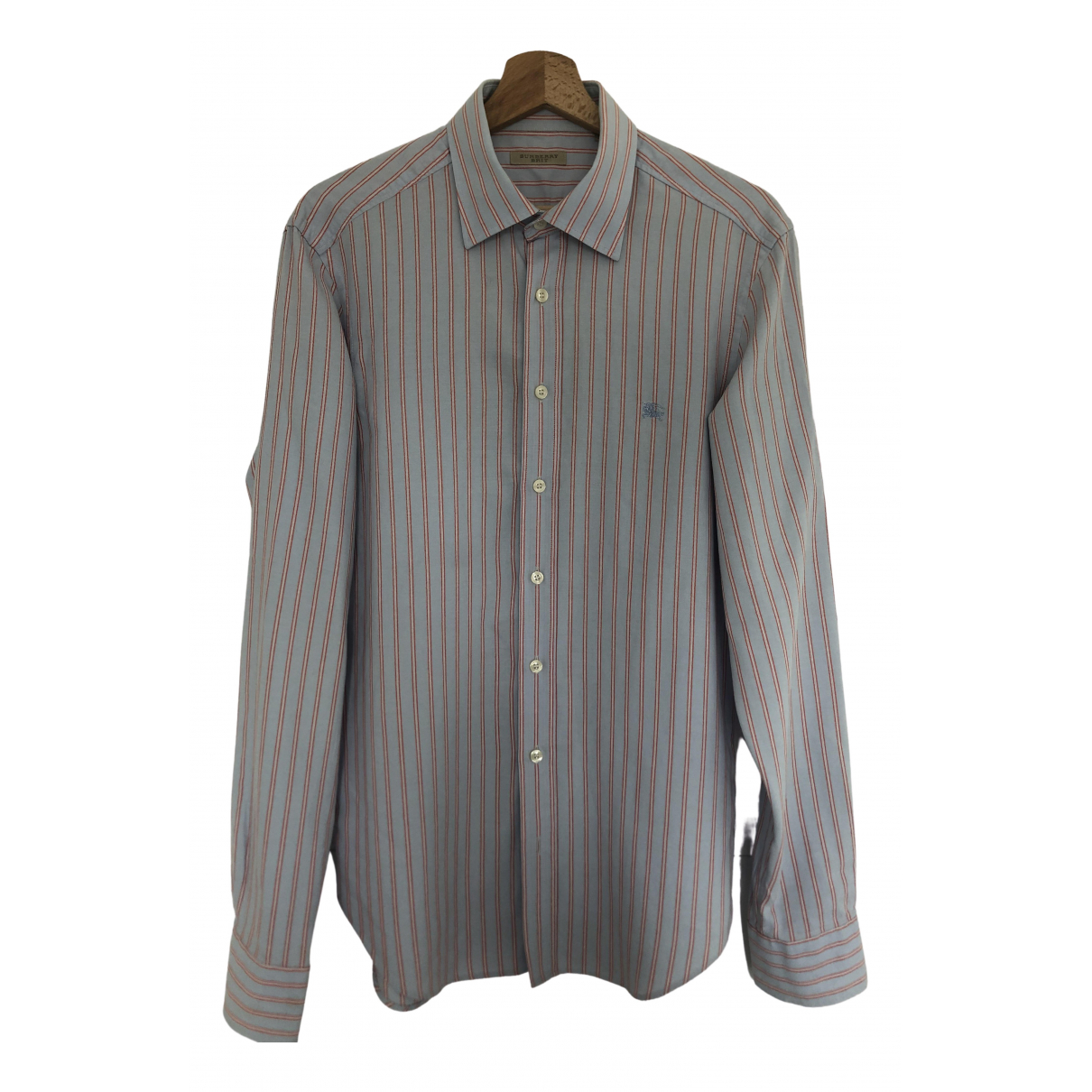 Burberry \N Purple Cotton Shirts for Men M International