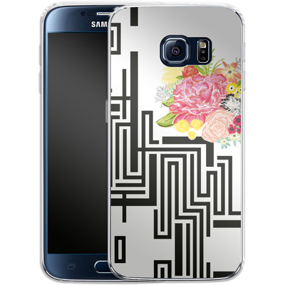 Samsung Galaxy S6 Silikon Handyhuelle - Michi Garden von Khristian Howell