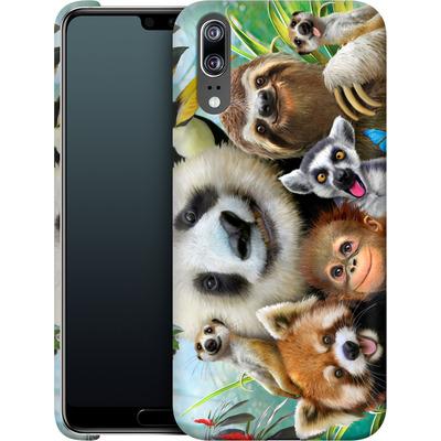 Huawei P20 Smartphone Huelle - Zoo Selfie von Howard Robinson