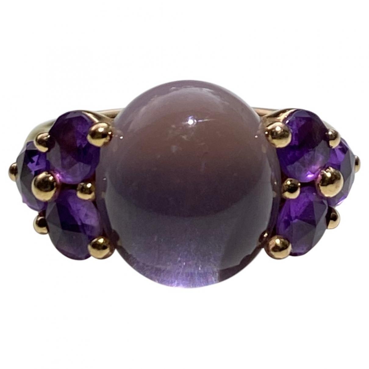 Pomellato - Bague Luna pour femme en or rose - violet