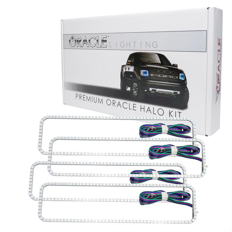 Oracle Lighting 2276-334 GMC Sierra 1988-1998 ORACLE ColorSHIFT Dual Halo Kit