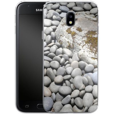 Samsung Galaxy J3 (2017) Silikon Handyhuelle - Zen Rocks von Brent Williams