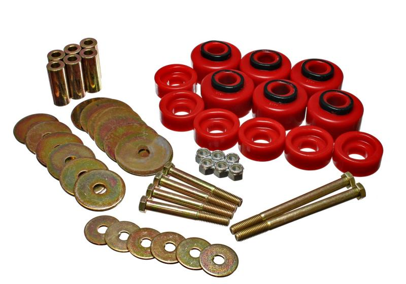 Energy Suspension 4.4113R Body Cab Mount Set Ford