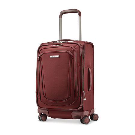 Samsonite Silhouette 16 20 Inch Carry-on Lightweight Luggage, One Size , Red