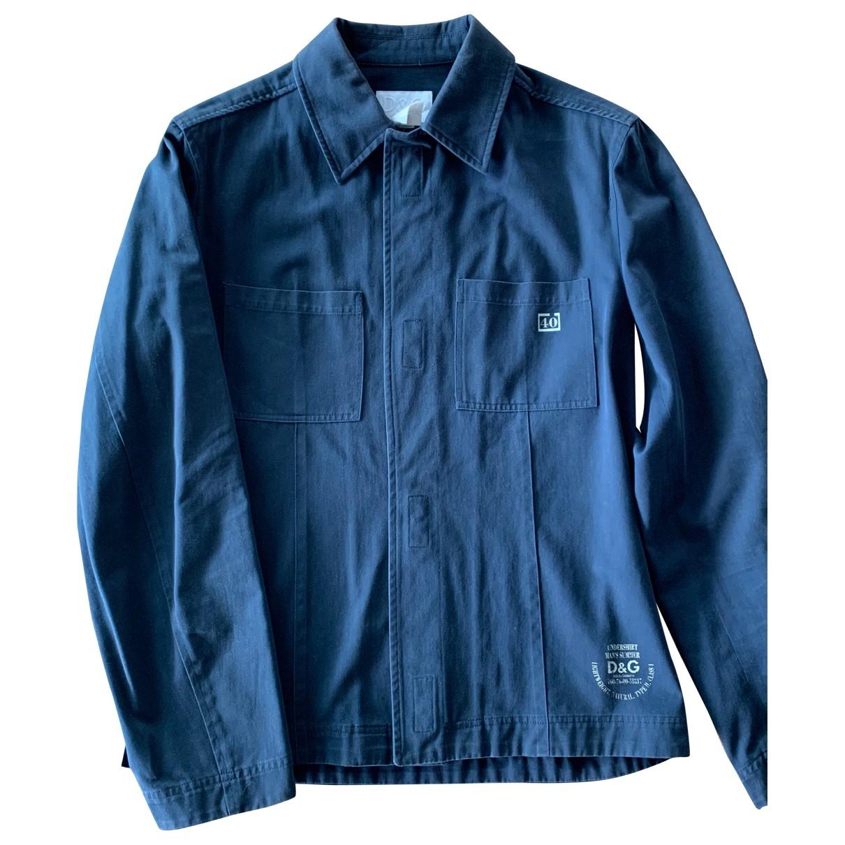 D&g - Vestes.Blousons   pour homme en coton - bleu