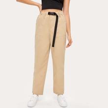 Buckle High Waisted Pants